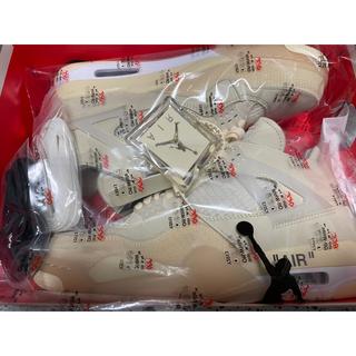 ナイキ(NIKE)のNIKE エアジョーダン4 off-white 27.5cm(スニーカー)