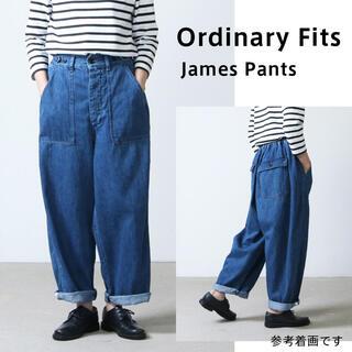 Ordinary fits ジェームスパンツ オーディナリーフィッツ デニム 0