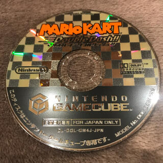 ニンテンドーゲームキューブ - マリオカートダブルダッシュ!! ゲームキューブ