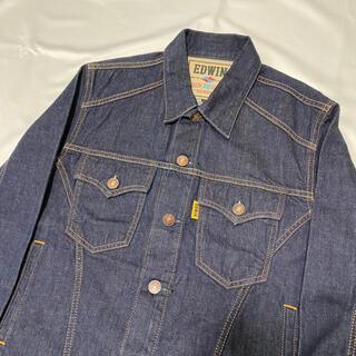 エドウィン(EDWIN)の【XL】EDWIN G10049 デニムジャケット Gジャン 濃紺(Gジャン/デニムジャケット)