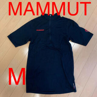 マムート(Mammut)のマムート 半袖ジップアップシャツ M レディース(Tシャツ(半袖/袖なし))