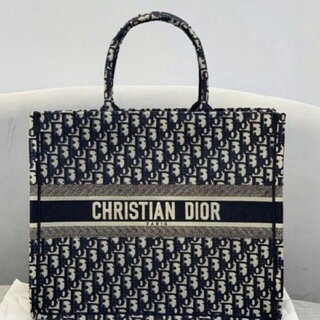 Christian Dior - christian dior book tote トートバッグ 美品