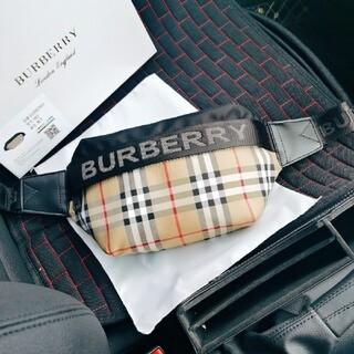 BURBERRY - BURBERRY★small ヴィンテージチェック バムバッグ