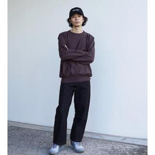 SUNSEA - order loose denim pants