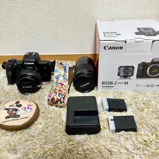 Canon - Cannon EOSKissM ダブルズームキット ⭕おまけつき