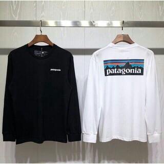 patagonia - 本日の特価2枚PatagoniaロングTシャツLサイズ ブラック+ホワイト