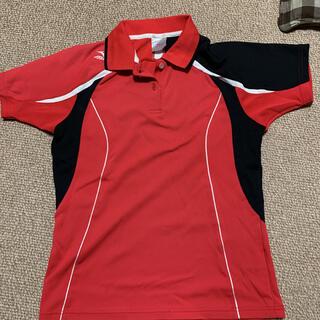 ミズノ(MIZUNO)のミズノテニスウェアポロシャツ    Mサイズ(ウェア)