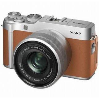 富士フイルム - 【未開封】富士フイルム ミラーレス一眼カメラ レンズキット X−A7LK−CA