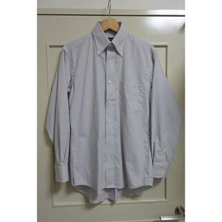 イセタン(伊勢丹)の伊勢丹Duke Madison 長袖 形態安定 ビジネスシャツ グレー系 38(シャツ)