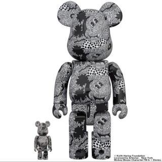 メディコムトイ(MEDICOM TOY)のBE@RBRICK Keith Haring Mickey Mouse  (その他)