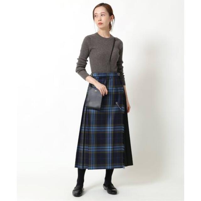 IENA(イエナ)のO'neil of Dublin コンビネーションクラシックキルトスカート レディースのスカート(ロングスカート)の商品写真