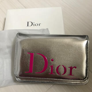 Dior - ディオール Dior ポーチ クラッチ シルバー ロゴ ノベルティ 非売品 新品
