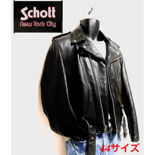 ショット(schott)のSchott ライダースジャケット ダブルレザージャケット(ライダースジャケット)