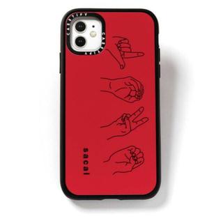 サカイ(sacai)のsacai iphone ケース casetify LOVE 11(iPhoneケース)