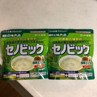 ロートセイヤク(ロート製薬)の【新品未開封】セノビック 抹茶ミルク味 224g 2袋(その他)
