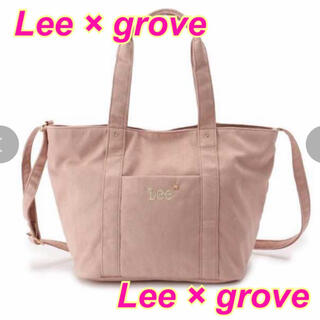 リー(Lee)のLee別注★grove★コラボ★トートバッグ★rienda*moussy*SLY(トートバッグ)