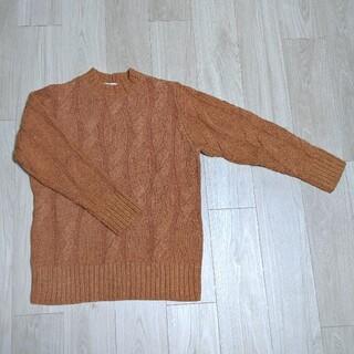 ルシェルブルー(LE CIEL BLEU)の【LE CIEL BLUE】ケーブル編みニットセーター36(ニット/セーター)
