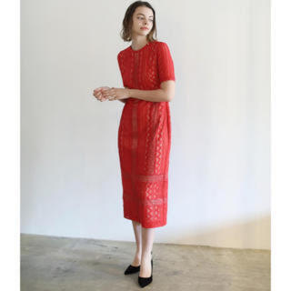 ラグナムーン(LagunaMoon)のlagunamoon ドレス(ひざ丈ワンピース)