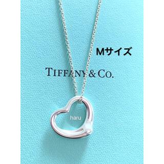 Tiffany & Co. - TIFFANY&Co. ティファニー オープンハート ネックレス Mサイズ