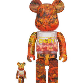 メディコムトイ(MEDICOM TOY)のMY FIRST BE@RBRICK AUTUMN LEAVES 千秋 400%(その他)