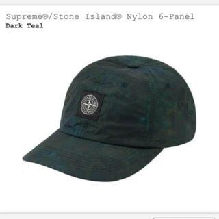 シュプリーム(Supreme)のSupreme Stone Island キャップ Dark Teal(キャップ)
