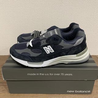 ニューバランス(New Balance)のNew Balance M992GG(ネイビー)(スニーカー)