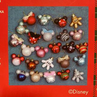 Disney - 日本未発売 ディズニー アドベントカレンダー クリスマスオーナメント25個セット