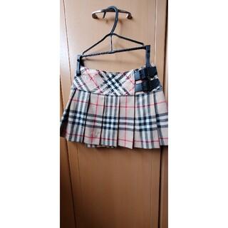 バーバリー(BURBERRY)のバーバリー ノバチェック スカート(ドレス/フォーマル)