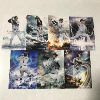 ハンシンタイガース(阪神タイガース)のBBM 阪神タイガース クロスレギュラーカード29枚セット(シングルカード)