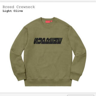 Supreme - 訳あり Supreme Breed Crewneck スウェット
