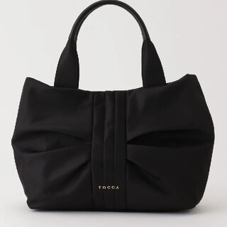 TOCCA - 2020♡新品タグ付 TOCCA トッカ RIBBON  トートバッグ 黒