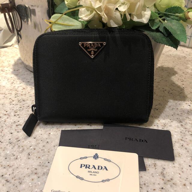 PRADA(プラダ)の美品☆プラダ☆素敵なお財布 レディースのファッション小物(財布)の商品写真