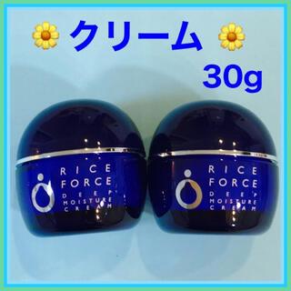ライスフォース - ライスフォース  ディープモイスチュア クリーム  薬用保湿クリーム
