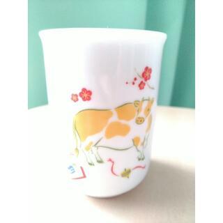 タチキチ(たち吉)の【新品】たち吉の湯飲み 牛 縁起干支(グラス/カップ)