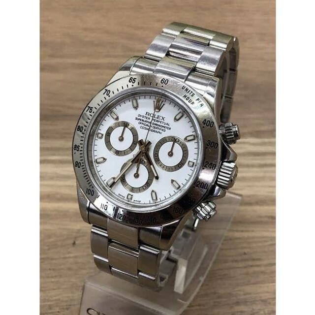 ROLEX(ロレックス)のロレックス ROLEX コスモグラフ デイトナ116520D番白文字盤稼働良好品 メンズの時計(腕時計(アナログ))の商品写真