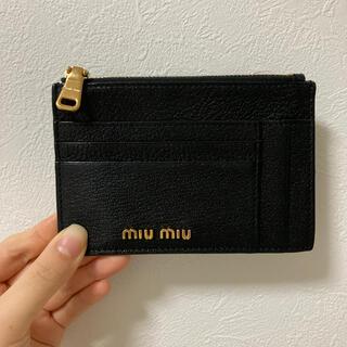 miumiu - *MIUMIU*コインケース/カードケース