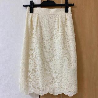 LAISSE PASSE - レッセパッセ レースタイトスカート