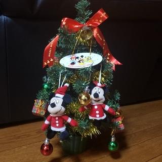 ディズニー(Disney)のミッキー&ミニー クリスマスツリー(3曲メロディー付き)(キャラクターグッズ)