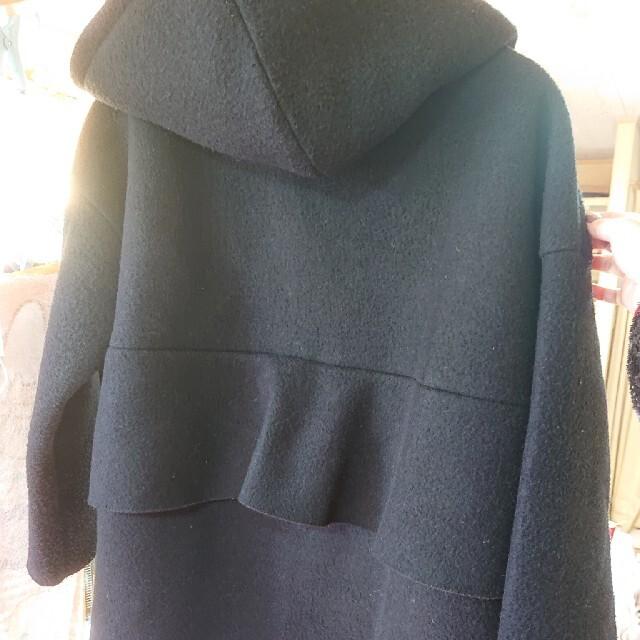 ZARA(ザラ)のmyu バックフリル コート  起毛 レディースのジャケット/アウター(ロングコート)の商品写真