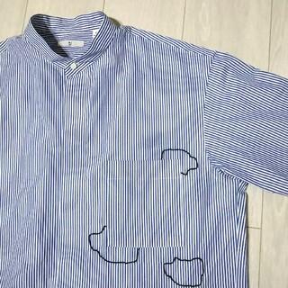 UNIQLO - オマケ付 ユニクロ +J ジルサンダー スーピマコットンオーバーサイズシャツ 雲