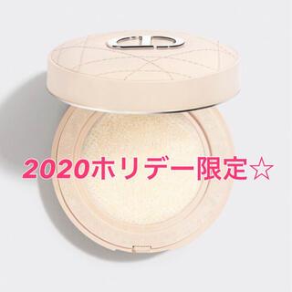 Dior - 即完売2020ホリデー限定☆ ディオールスキンフォーエヴァークッションパウダー