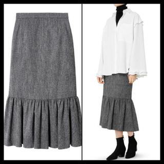 ルシェルブルー(LE CIEL BLEU)の■本日限り均一セール■ルシェルブルー ツイードロウギャザースカート (ロングスカート)