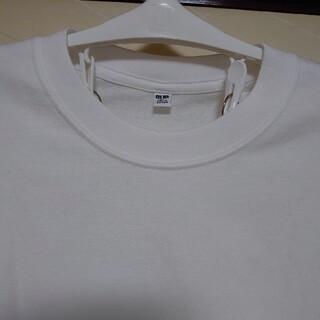 UNIQLO - [新品タグつき] UNIQLO ユニクロ ワイドスリーブT(長袖) 白 XL