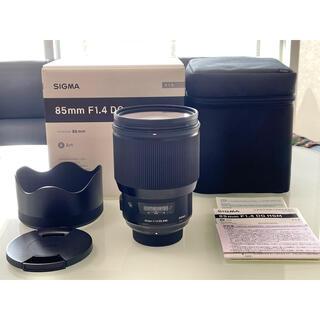 SIGMA - sigma 85mm f1.4 art シグマ ニコン 中望遠 単焦点 レンズ