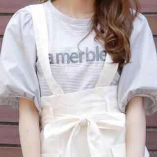 ダズリン(dazzlin)のdazzlin/ダズリン ボーダー バルーン袖Tシャツ(Tシャツ(半袖/袖なし))