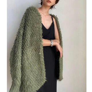 TODAYFUL - CLANE MOHAIR LOOP BULKY KNIT CARDIGAN