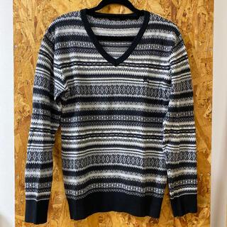 バーバリーブラックレーベル(BURBERRY BLACK LABEL)のBurberry Black Label♡Vネックセーター(ニット/セーター)