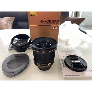 Nikon - 美品 Nikon AF-S NIKKOR 20mm f1.8 ニコン 広角