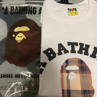 A BATHING APE - 早い者勝ち!新品未使用!BAPE Tシャツ