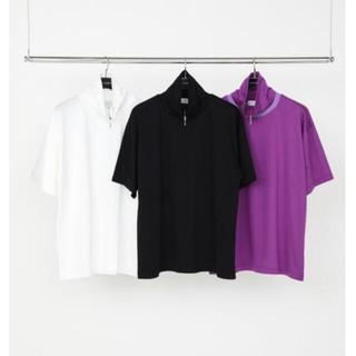 ジョンローレンスサリバン(JOHN LAWRENCE SULLIVAN)のlittlebig 19ss Zip Hi-Necked カットソー(Tシャツ/カットソー(半袖/袖なし))
